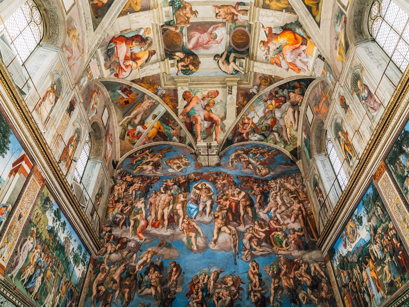 Attractions in rome - The Sistine Chapel