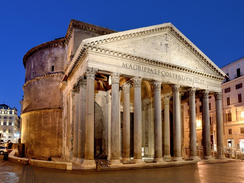 Attractions in rome - Pantheon